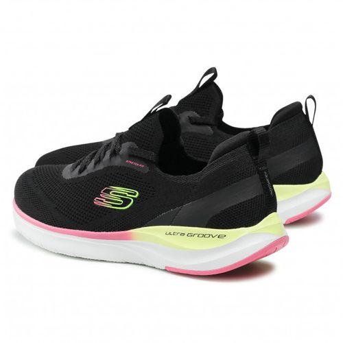 Tenis Skechers 149281 Bkmt Mujer